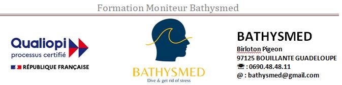 Devenez moniteur Bathysmed 2ième degré - 2 semaines de formation