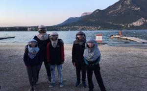 Deux jours forts en émotion avec les Enfants de la Lune pour leur premier stage de plongée Bathysmed.